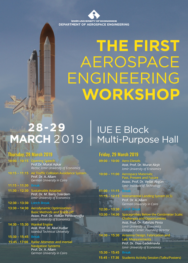 The First Aerospace Engineering Workshop