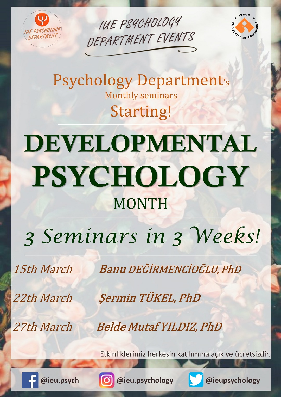 DEVELOPMENTAL PSYCHOLOGY MONTH