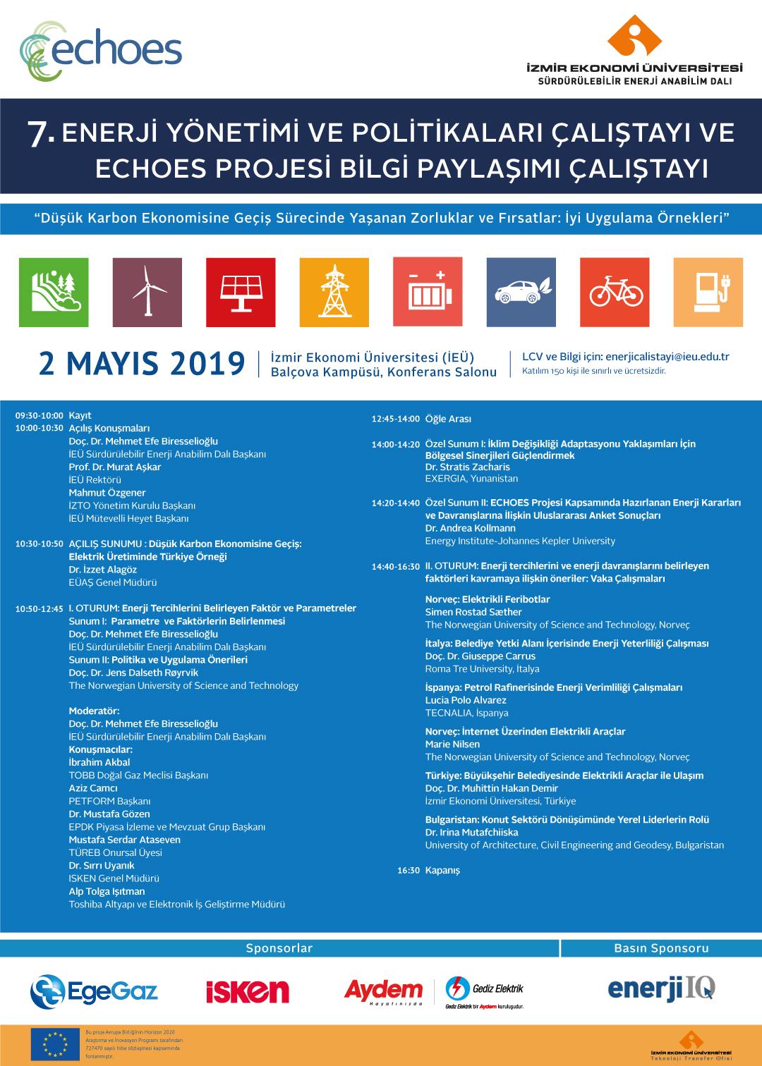7. Enerji Yönetimi ve Politikaları Çalıştayı