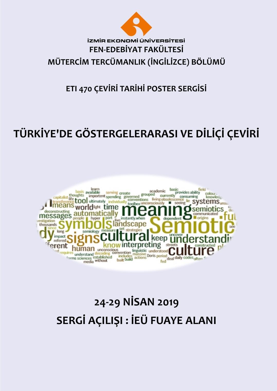 ETI 470 Çeviri Tarihi Poster Sergisi