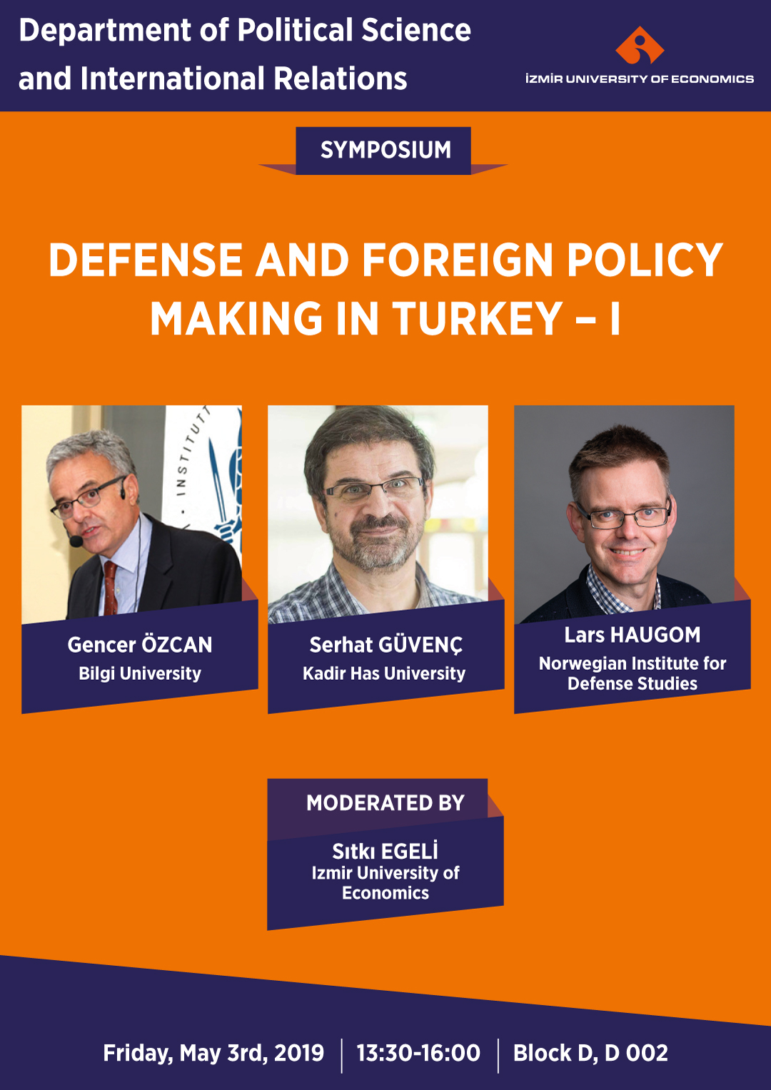 Defense and Foreign Policy Making in Turkey -I