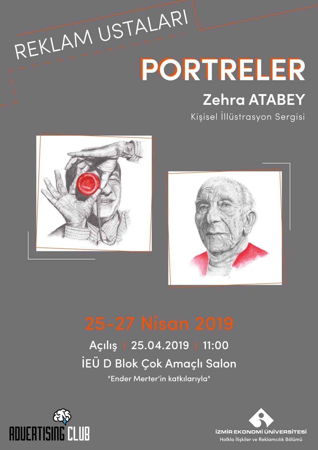 Reklam Ustaları Sergisi & Portreler - Zehra Atabey