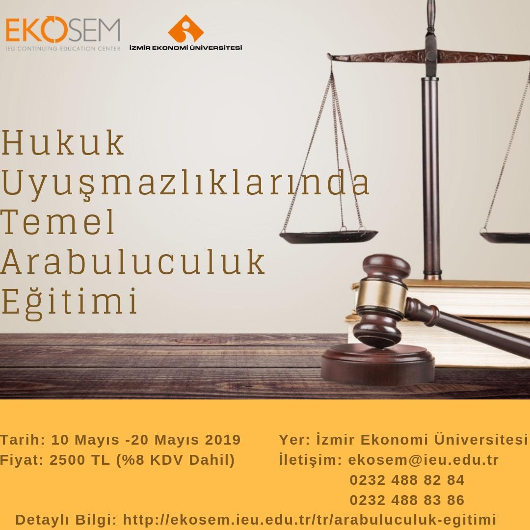 Hukuk Uyuşmazlıklarında Temel Arabuluculuk Eğitimi