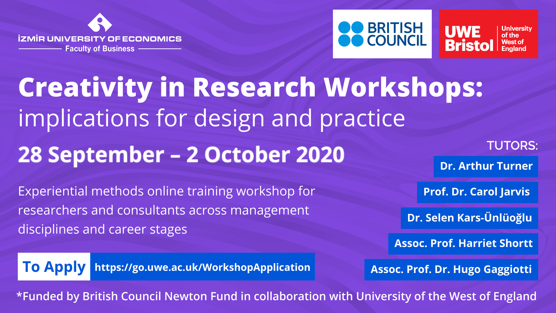 Creativity in Research Workshops