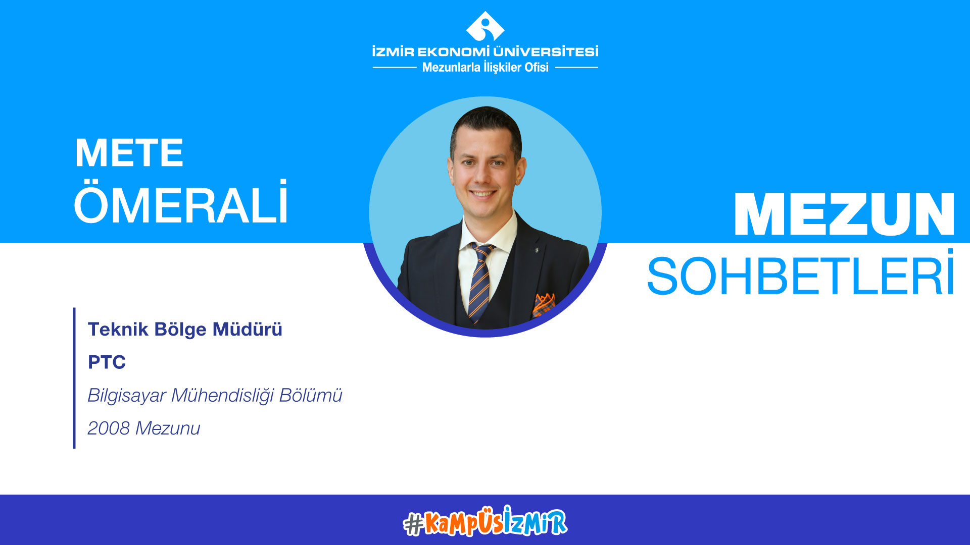Online alumni chats-Mete Ömerali