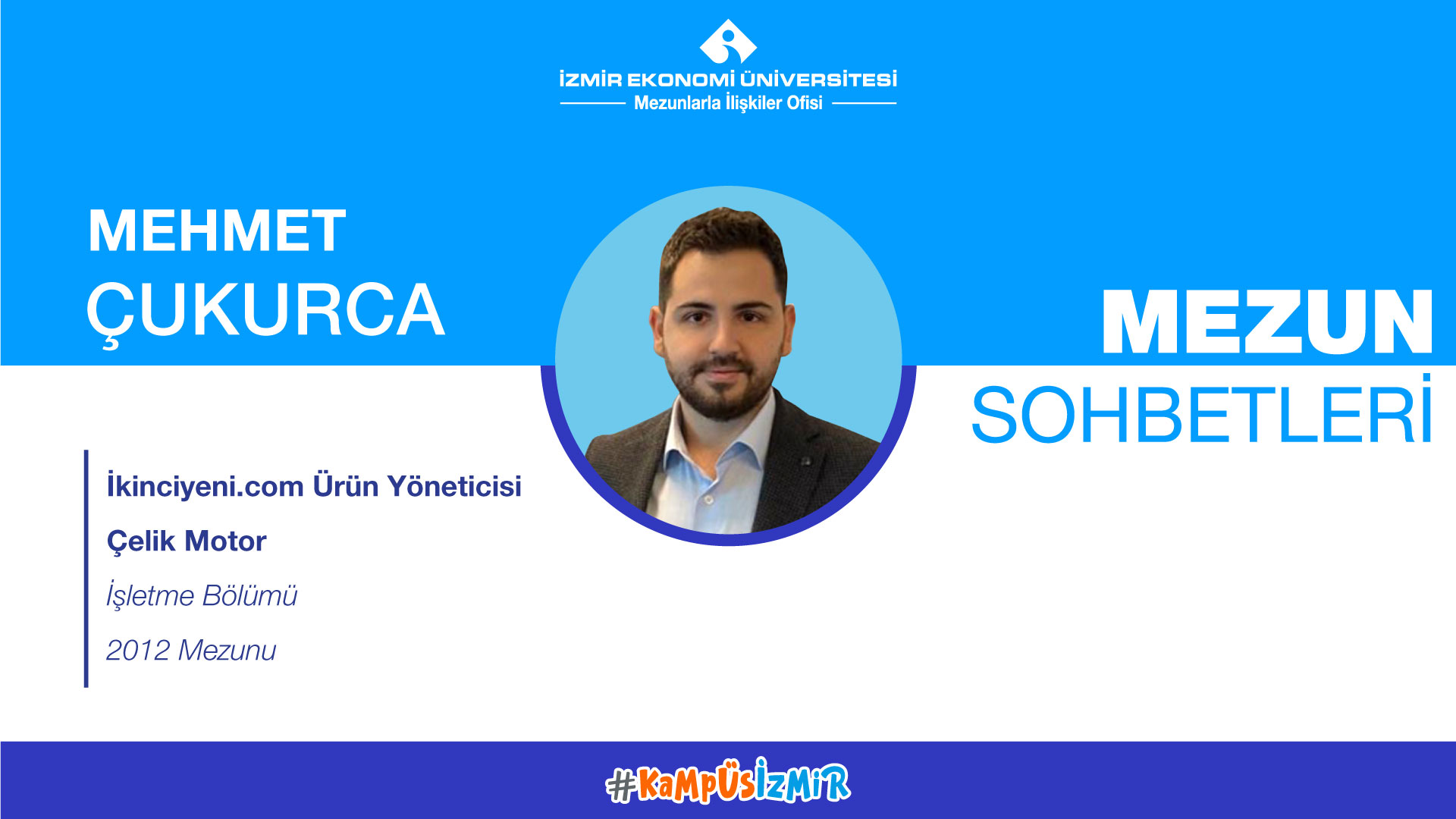 Online alumni chats-Mehmet Çukurca