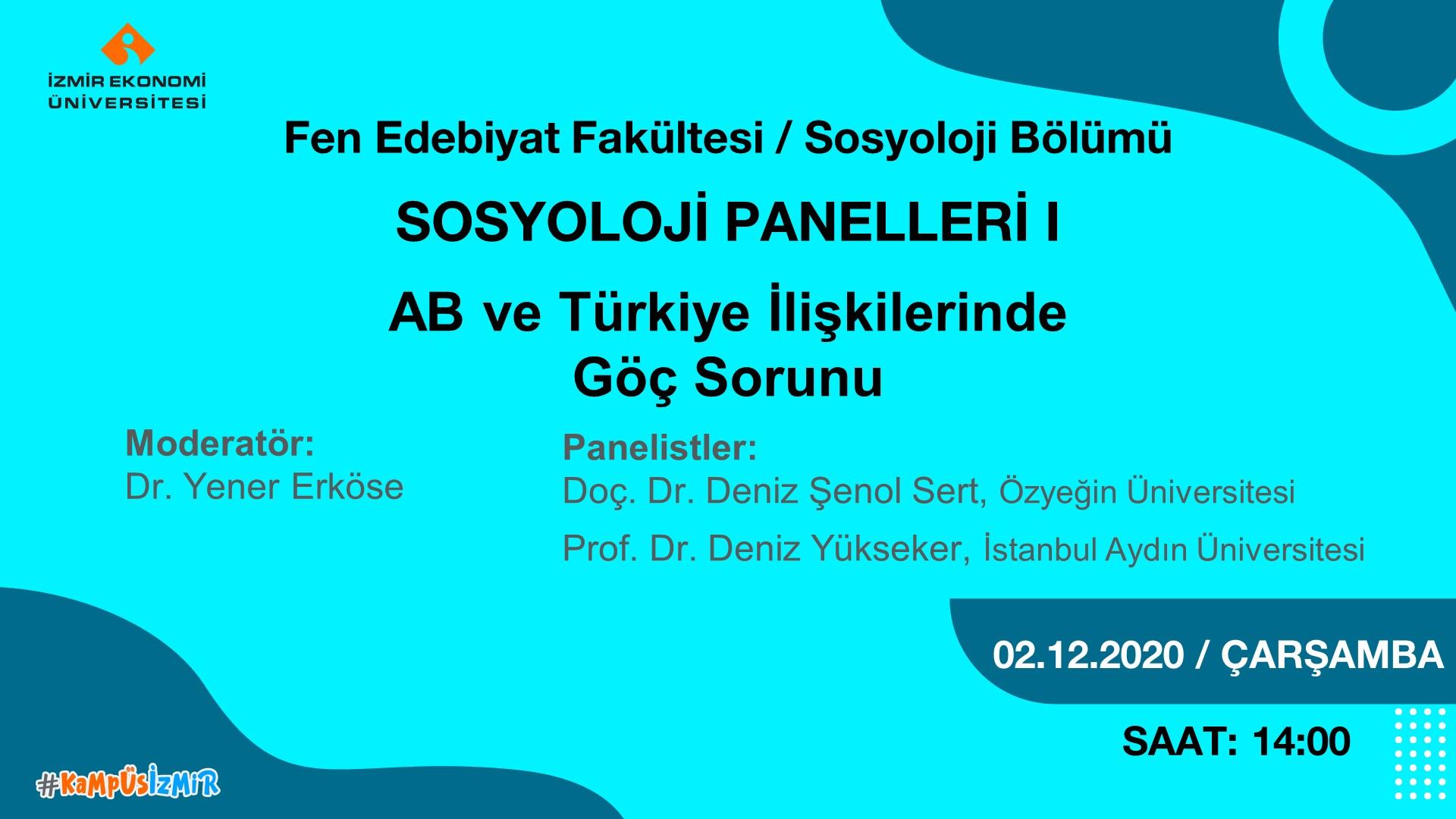AB ve Türkiye ilişkilerinde göç sorunu