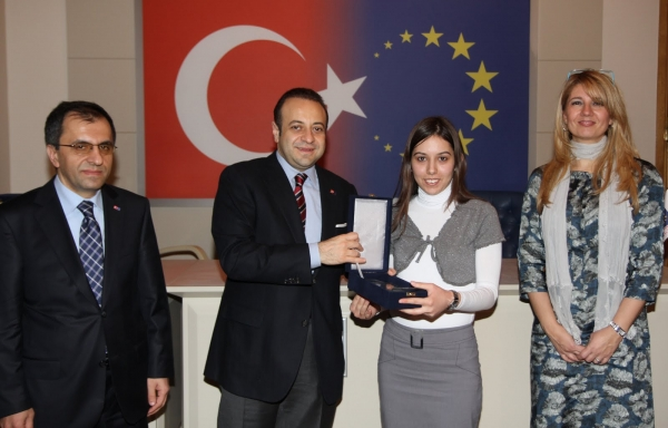 YOUNG TRANSLATOR REPRESENTING TURKEY