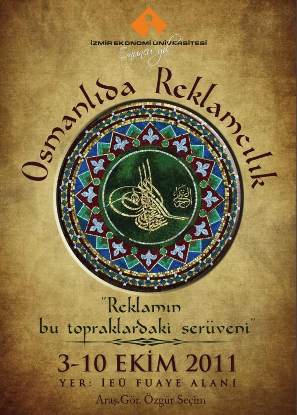 Osmanlı'da Reklamcılık sergisi