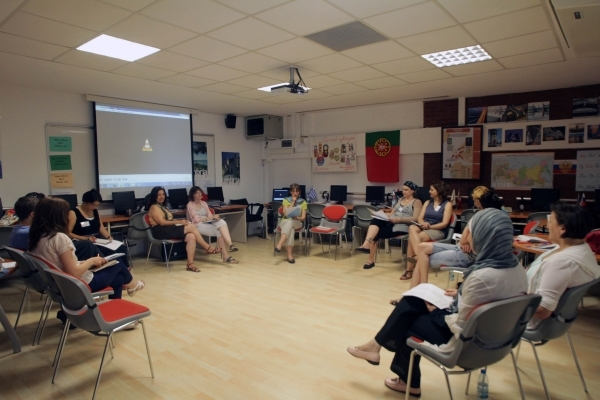 FRENCH TEACHERS CAME TOGETHER AT SUMMER UNIVERSITY