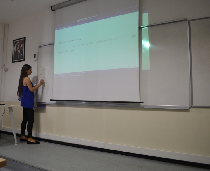 THE SENIOR STUDENTS OF MATHEMATICS DEPARTMENT PRESENTED THEIR GRADUATION PROJECTS
