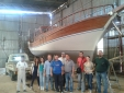 STUDENTS OF YACHT DESIGN ARE AT BODRUM SHIP YARD