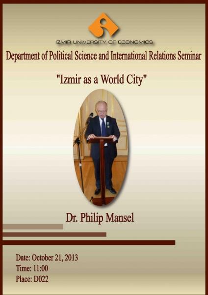 """""""IZMIR AS A WORLD CITY"""""""
