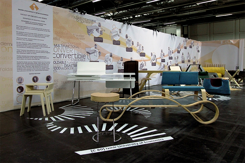 What did we do for IMM Cologne International Furnishing Show Schools?