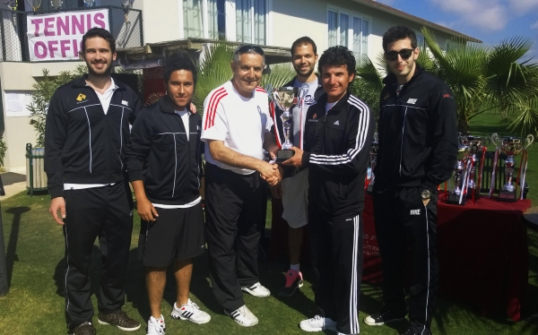 IUE MEN'S TENNIS TEAM ENTERED IN THE 1ST LEAGUE