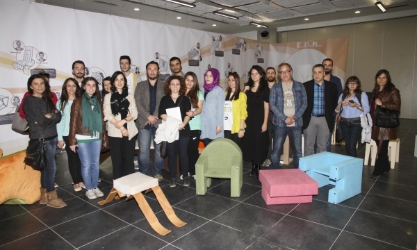 FURNITURES ARE DESIGNED BY STUDENTS OF IZMIR UNIVERSITY OF ECONOMICS