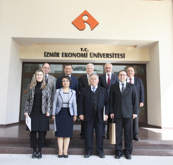 A VISIT FROM IZMIR UNIVERSITIES PLATFORM