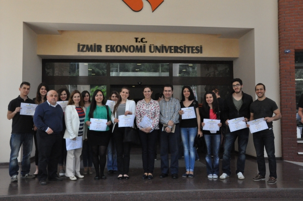 IUE STUDENTS RECEIVED THEIR CERTIFICATES