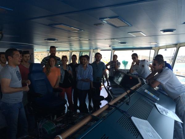Lojistik Yönetimi Bölümü Öğrencilerinin Ro-Ro limanı ziyareti