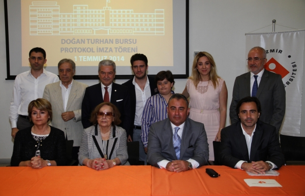 DOĞAN TURHAN'S NAME WILL LIVE THROUGH SCHOLARSHIPS AT IZMIR UNIVERSITY OF ECONOMICS
