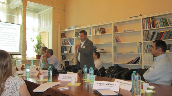 Dr.Mateescu'nun SCOPE 2014'teki Bildirisi