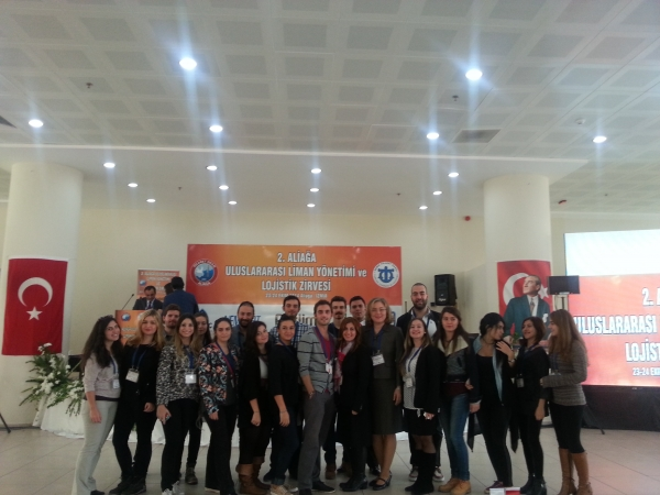 Department of Logistics Management in 2nd Aliağa Port Management and Logistics Summit