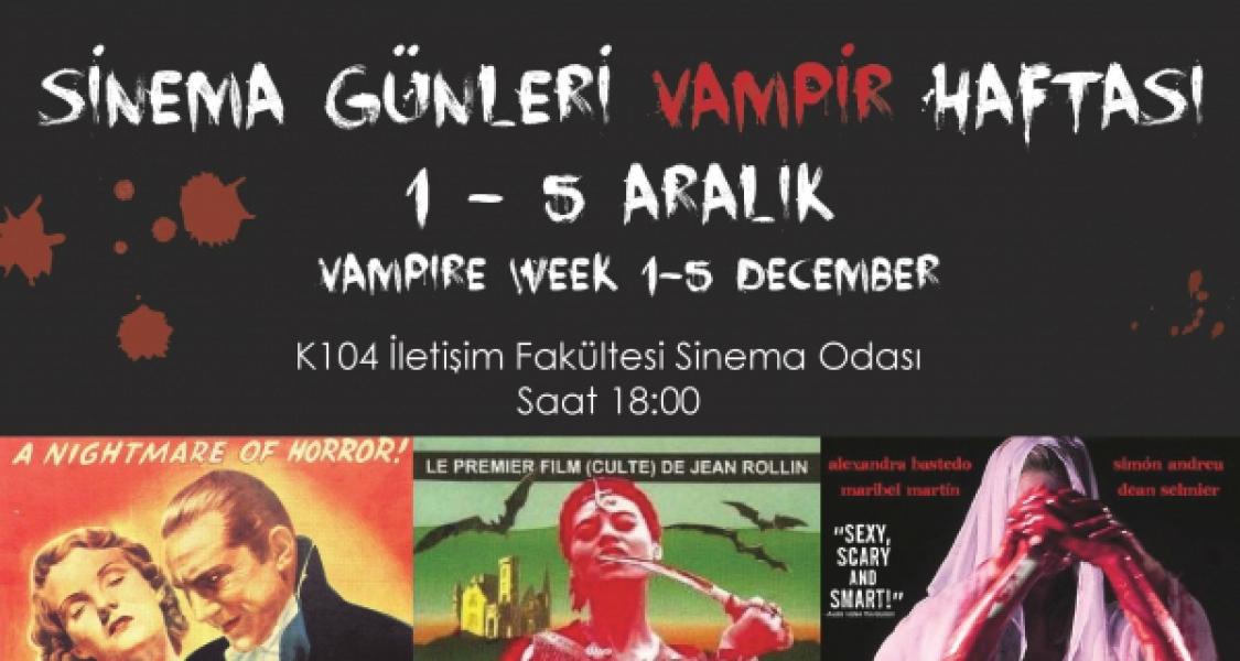 Sinema Günleri Vampir Haftası