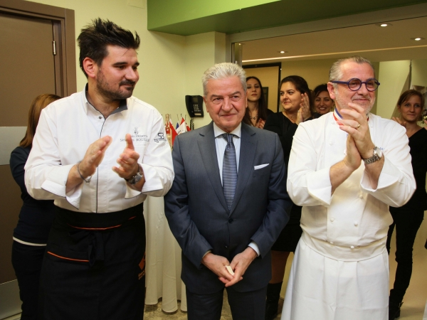 THEY WILL LEARN THE ART OF CUISINE IN FRANCE