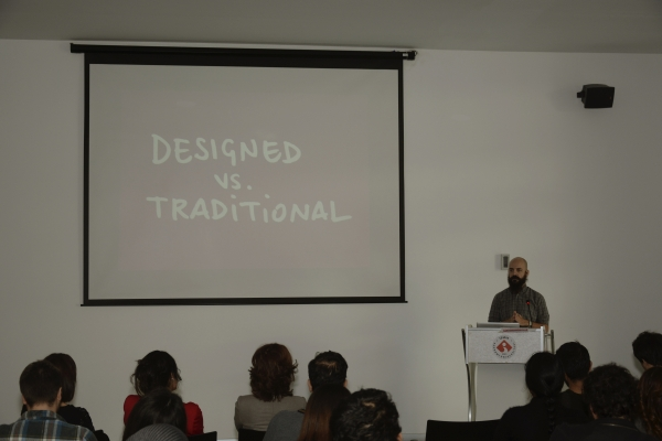 "Visual brand design workshop ""İzmir 2015: Expose Yourself To Life"" resulted."