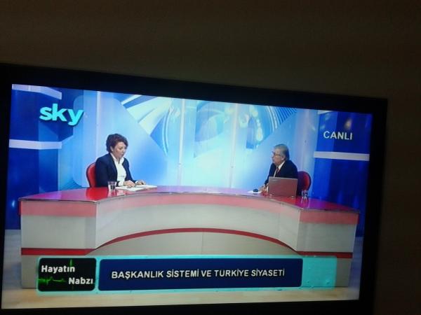 Prof.Dr.Filiz Başkan Canyaş Sky Tv'de Başkanlık Sistemi'ni Değerlendirdi