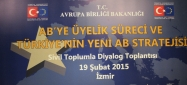 AB Bakanı Volkan Bozkır İzmir'deydi