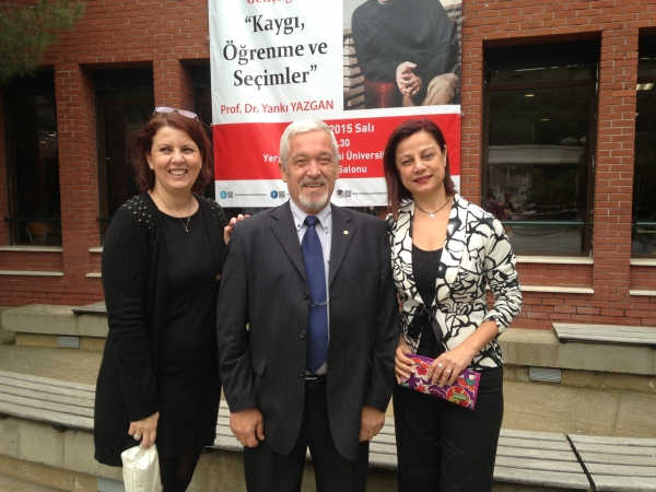 Prof. Dr. Yankı Yazgan ile 'Ergenlikten Gençliğe Kaygı, Öğrenme ve Seçimler' Konferansı