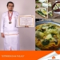TWO MEDALS FOR IUE STUDENT CHEF