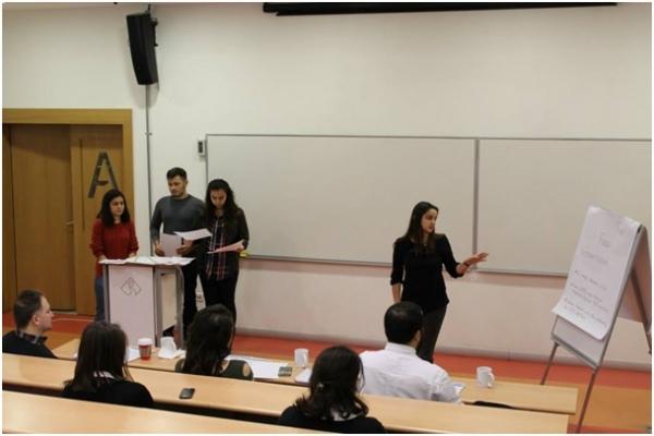 İzmir Ekonomi Üniversitesi ESTIEM komitesi TIMES vaka analizi yarışmasına ev sahipliği yaptı.