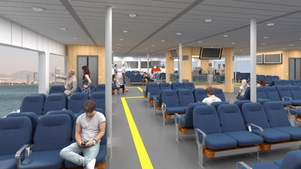 IZMIR FERRIES GET REDESIGNED BY IZMIR UNIVERSITY OF ECONOMICS