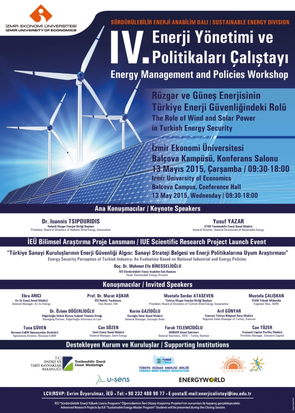 RENEWABLE ENERGY WILL BE DISCUSSED