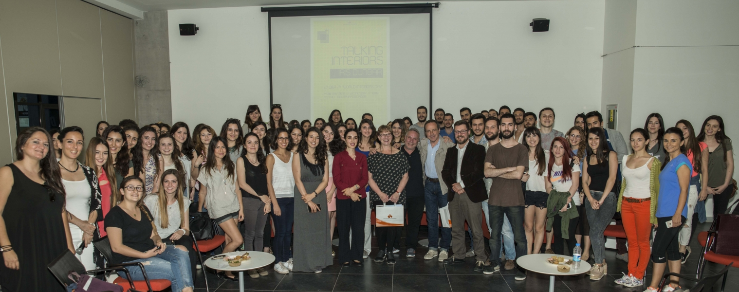 INTERIOR ARCHITECTS CAME TOGETHER AT IZMIR UNIVERSITY OF ECONOMICS