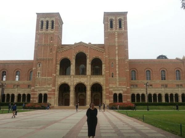 ÖĞRETİM GÖREVLİSİ DR. DENİZ HARPUTLU POST DOKTORA İÇİN UCLA'DA !