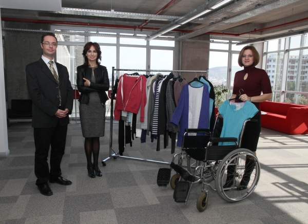 WARM CLOTHING FOR THE DISABLED