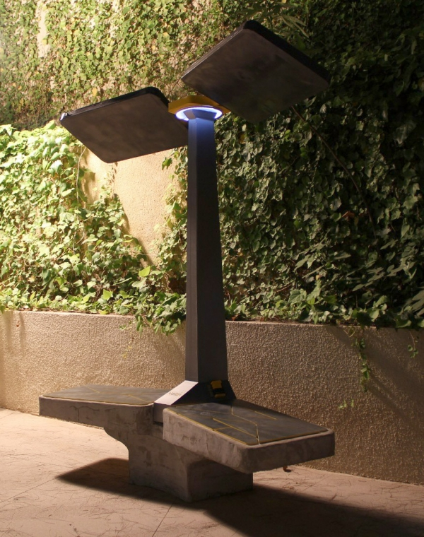 SMART SOLAR BENCHES