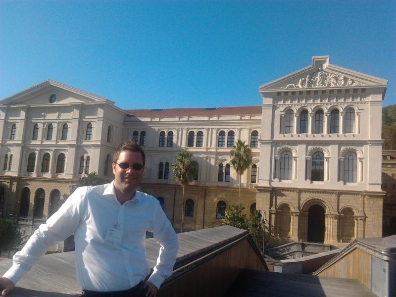 Alexander Bürgin İspanya'da bir Uluslararası Konferansa Katıldı