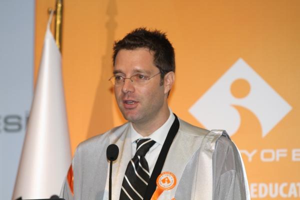 Alexander Bürgin'in 15. Akademik Yıl Açılış Töreni Konuşması