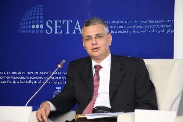 Yarı Zamanlı Öğretim Görevlimiz Dr.Sıtkı Egeli'nin SETAV'da Hava Savunma Sistemleri Hakkında Yaptığı Konuşma