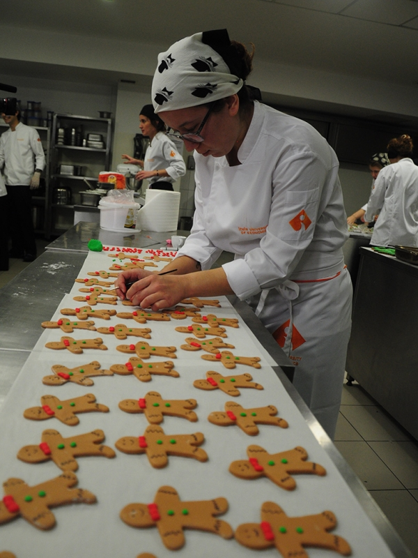 NEW YEAR'S COOKIES FOR SICK CHILDREN