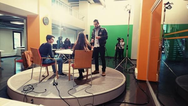 Mobil Yayıncılık Atölyesi'nde İzmir Cengiz Aytmatov Sosyal Bilimler Lisesi öğrencilerini ağırlıyoruz.