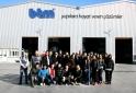 İş Sağlığı ve Güvenliği Bölümü BTM Firmasını Ziyaret Etti