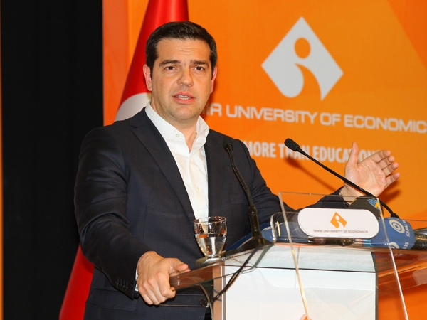 HONORARY DOCTORATE DEGREE TO TSIPRAS