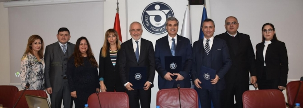 """CEREMONY FOR THE SIGNING OF THE COOPERATION PROTOCOL ON ARBITRATION AND MEDIATION BY İZMİR CHAMBER OF COMMERCE, İZMİR UNIVERSITY OF ECONOMICS AND EUROPEAN COURT OF ARBITRATION""  AND  "" CONFERENCE ON NATIONAL AND INTERNATIONAL ARBITRATION PRACTICE"