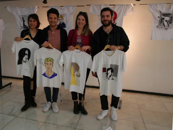AD WORLD CAME TOGETHER AT THE T-SHIRT EXHIBITION