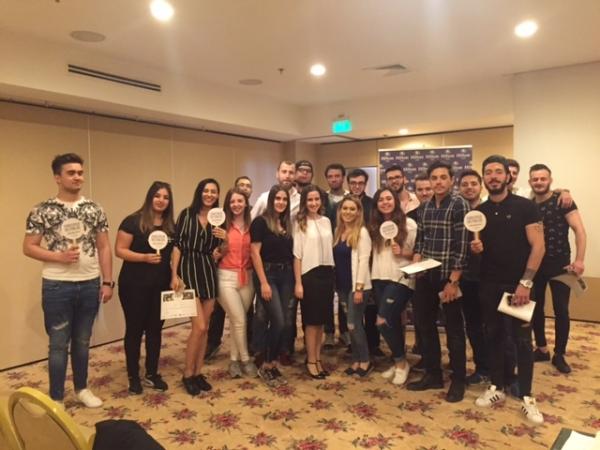 Turizm ve Otel İşletmeciliği Öğrencilerinin Hilton İzmir Ziyareti